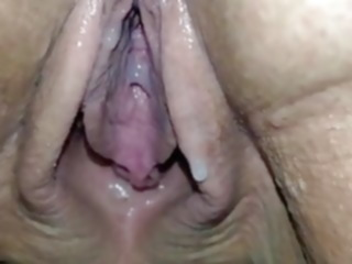milf 80YO GRANNY LUISA DRIPPING CREAM mature