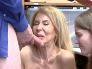 hardcore Natural hairy mature and trapped in hardcore gangbang Suspec blowjob