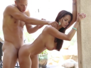 hd Ava Addams puts all of this dick in her mouth cumshot