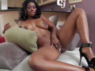 big cock Busty Bubble Butt Ebony big ass
