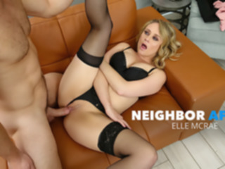 blonde Elle Mcrae Cheats On Husband With Manly Neighbor - NeighborAffair big tits