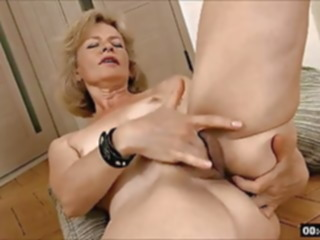 hairy Lustful deaf-mute Russian grandma Diana... 1 fingering