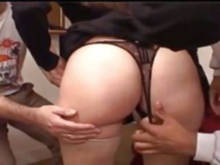 gangbang XY, YOUNG WIFE'S FIRST HOME GANGBANG, HD interracial