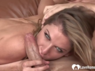 hd Skinny blonde with big tits lets her new lover fuck her the way he likes the most blonde
