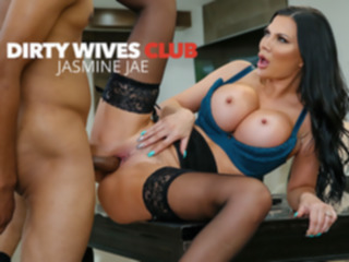 high heels Jasmine Jae Helps Herself To A Big Black Cock - DirtyWivesClub big tits